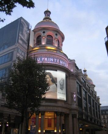 Printemps Haussmann Ilot 2 - Paris // Architecte : Y. Pushelberg //
